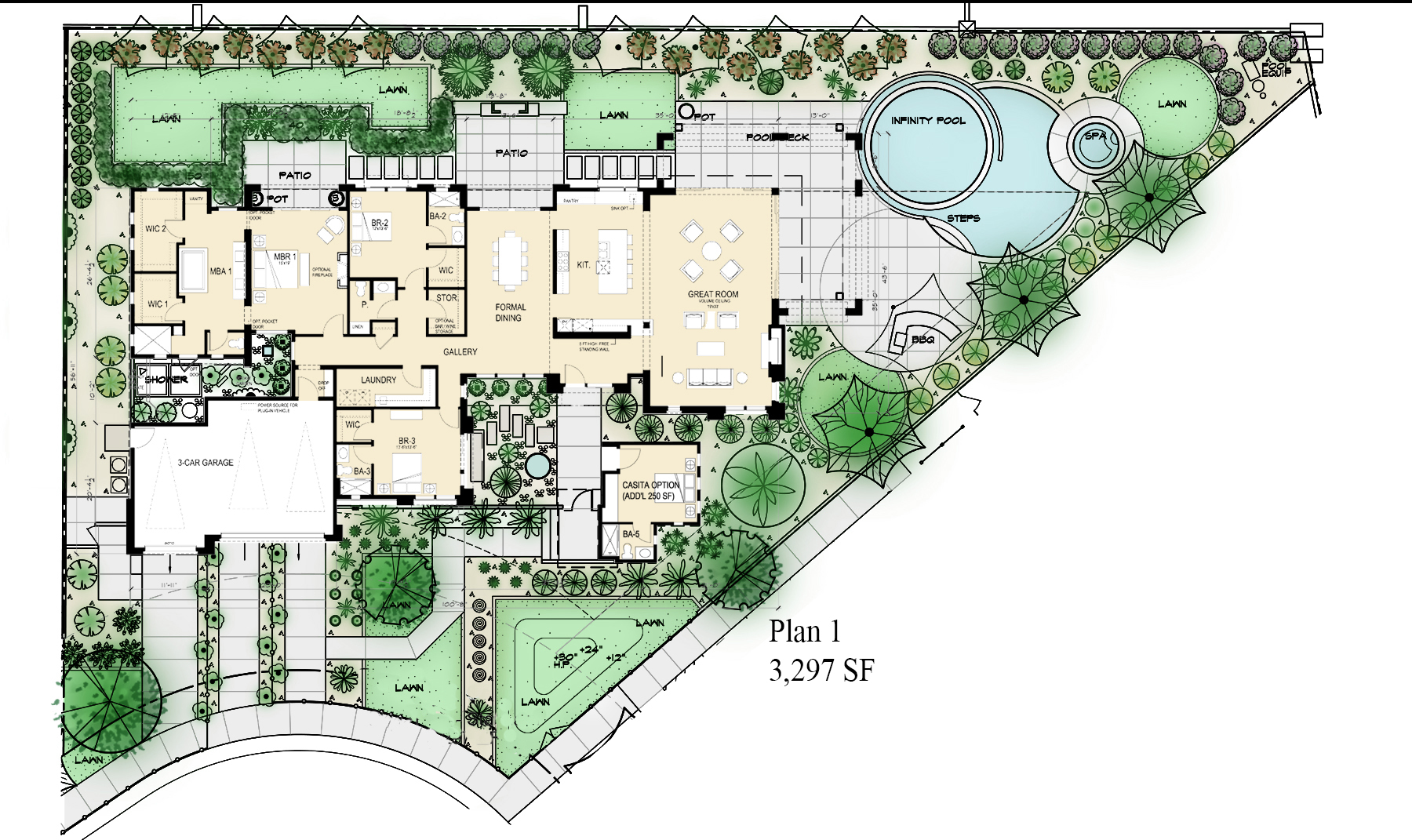 Design Solutions for Narrow and Wide Lots | Professional Builder