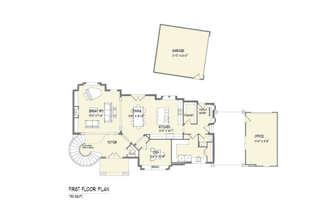 if theres view potential on the lot orient as many living areas to it as possible open floor plans are ideal because they offer sightlines through the - Pie Shaped Lot Home Plans