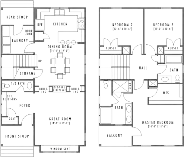 Kitchen Upstairs: Design: Small Homes With Huge Appeal