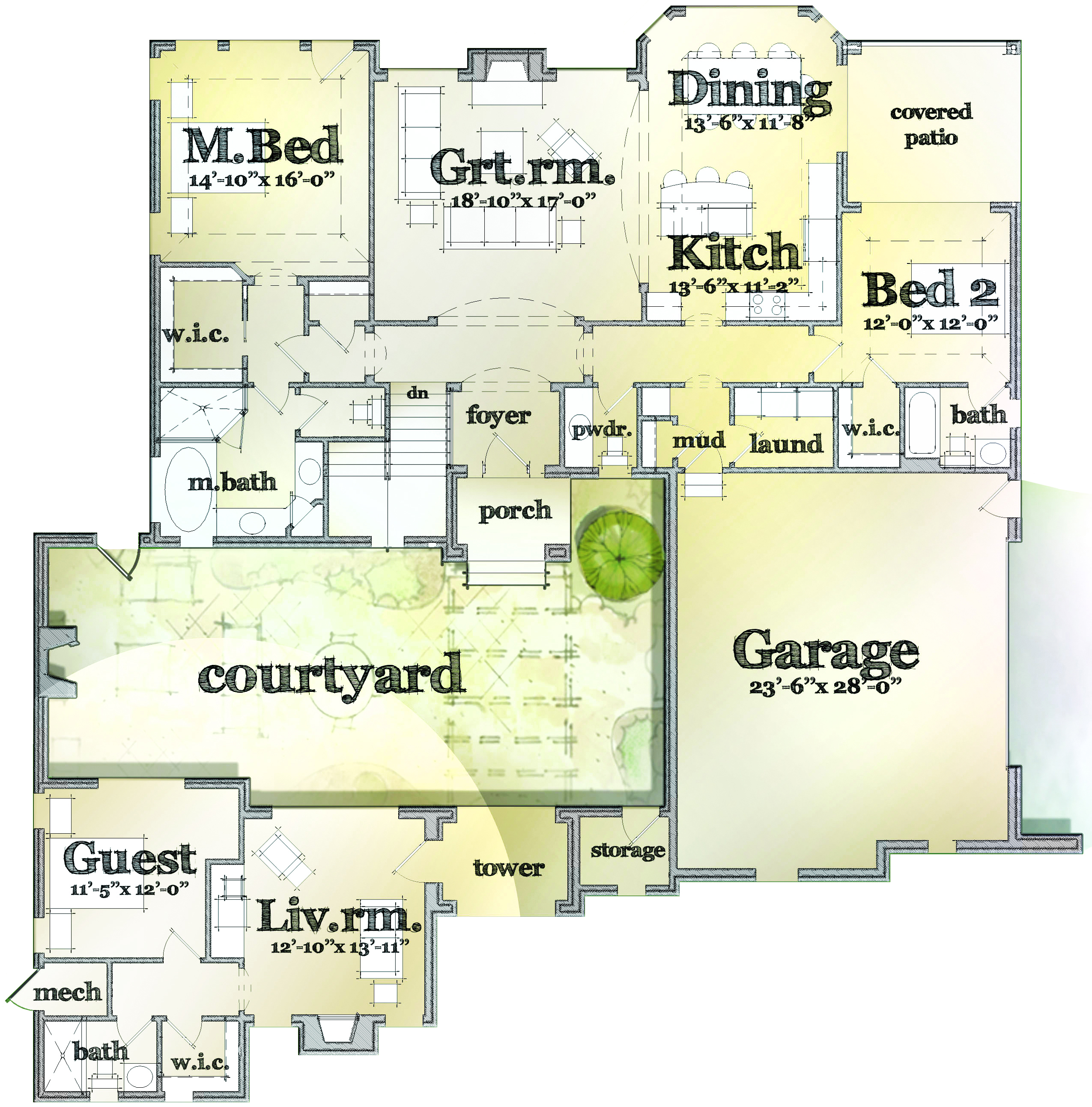 2 Story Villa Floor Plans House Review Casitas And In Law Suites Professional Builder