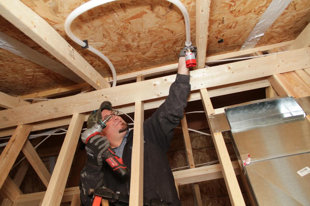 The home includes 50 fire sprinklers for safety and peace of mind.