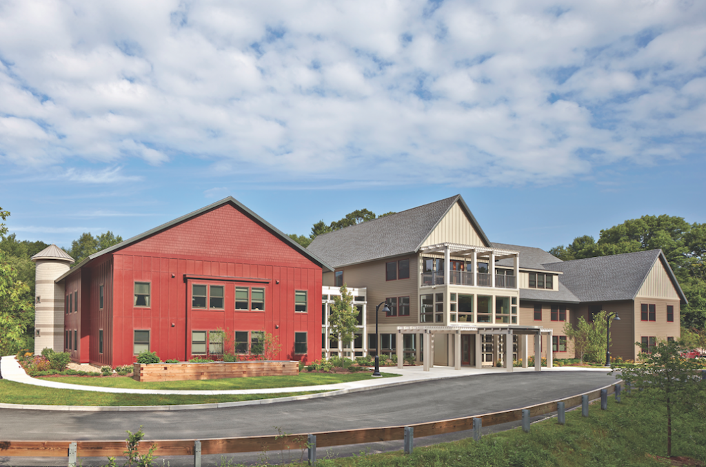 Benfield Farms Senior Housing An hour north of Boston Photo: Robert Benson Photography