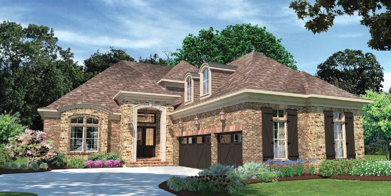 House Review-GMD Design Group-The Oxley-3D exterior rendering