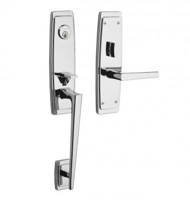 Ordinaire The Simple Sculptural Lines And Patterns Of Mid Century Modern Design  Inspired The Palm Springs Collection Of Door Sets From Baldwin Hardware.