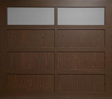 Powder-coated wood-grain finishes are now available on the 360 Series residential aluminum garage doors from Haas Door. The 14 contemporary design options ... & Garage Doors | Haas Door | Professional Builder