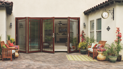 Charmant Jeld Wenu0027s New W 4500 Wood Folding Patio Door Is A Wall System That Allows  Homeowners To Make The Most Of The Space They Have.
