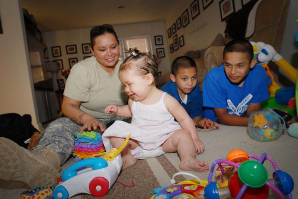 Affordable Housing an Issue for Military Households