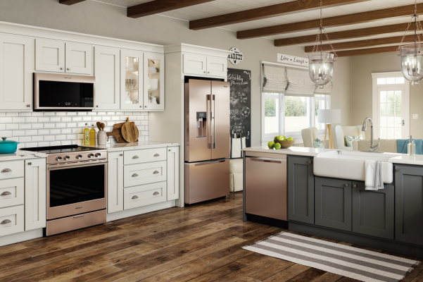 Whirlpool Kitchen Suite A conversation with whirlpool about technology that matters smart kitchen suite sunset bronze combine beauty and efficiency with whirlpool smart appliances in fingerprint resistant sunset bronze workwithnaturefo