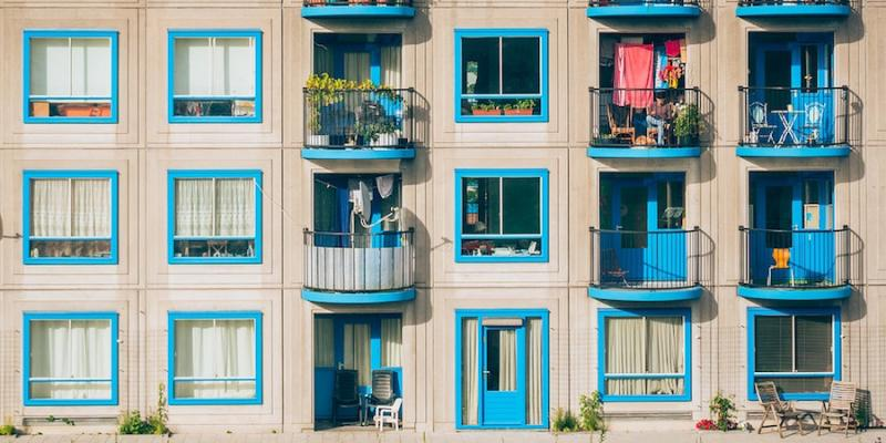 renters confident about affordability-photo of apartment building