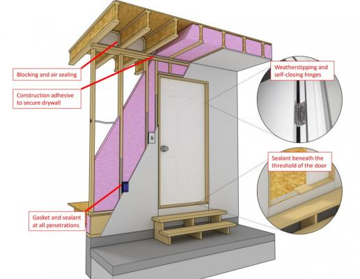 How to seal a garage  sc 1 st  Professional Builder : airtight door - pezcame.com