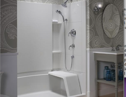 Sterling Accord Seated Shower | Professional Builder