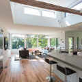 Steven Baczek architect, Bowen residence, living spaces