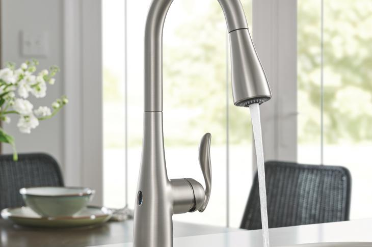 motionsense kitchen images moen brantford arbor faucets faucet traditional with