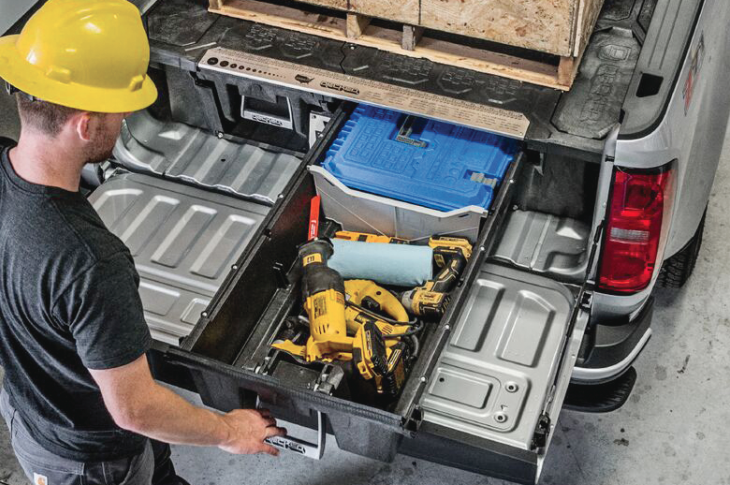 2018 Top 100 Products_Tools and equipment_Decked  truck storage