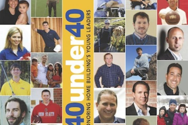 Meet Professional Builder's 40 Under 40 class for 2012