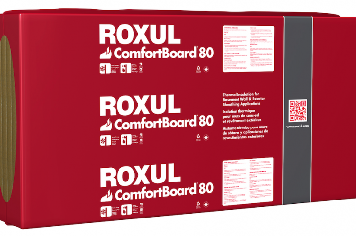 Building products-Roxul-ComfortBoard 80 insulation