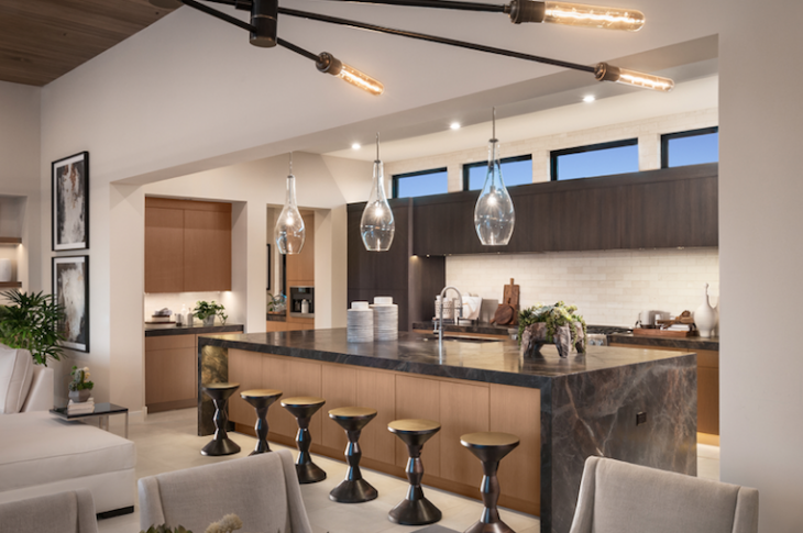 Kitchen of Cavallo model at White Horse, Scottsdale, Ariz.