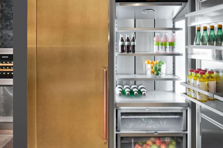 Liebherr Monolith column fridge
