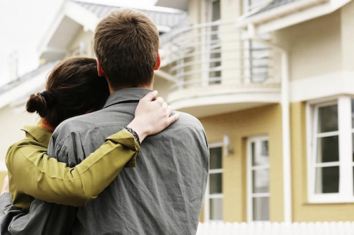 Young couple aspires to buy a home
