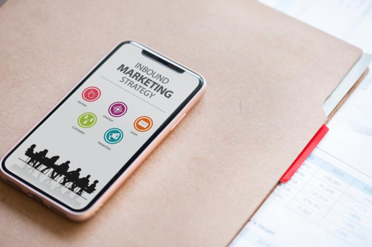 Mobile device inbound marketing strategy